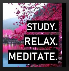OCT10. Study. Relax. Meditate
