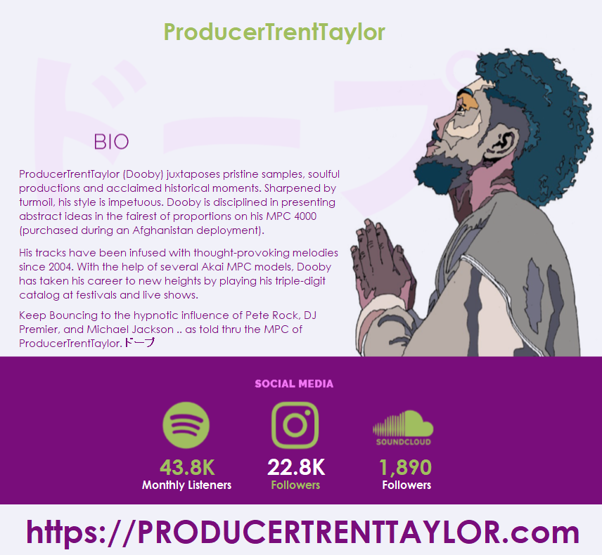 Image D. ProducerTrentTaylor Overview - Bio & Social Media